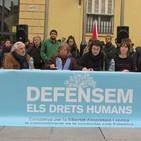 Rueda de prensa BDS. Campaña Defensem els Drets Humans.