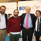 Luis Alberto de Cuenca, Ignacio Escuín y Álvaro Petit Zarzalejos hablan sobre la poesía en la sociedad 2.0