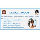"""Entrevista número 2: Inmovilizadores eléctricos (Taser), delirio agitado, zonas vitales y """"NO vitales"""" y letalidad de la"""