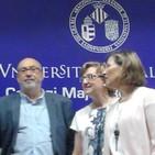 Inauguración : Decana Facultad Derecho; Manuel Alcaraz , Conseller , Secret. Universidad