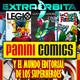 EXTRA ÓRBITA –Archivo Ligero- PANINI cómics y el mundo editorial de los superhéroes (enero 2018)