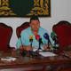 Rueda de prensa del concejal de Hacienda, Eloy Tarno, para informar a los ciudadanos de los Presupuestos Generales 2016