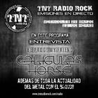 TNT RADIO - Entrevista CALIGULA'S HORSE 30.03.2017