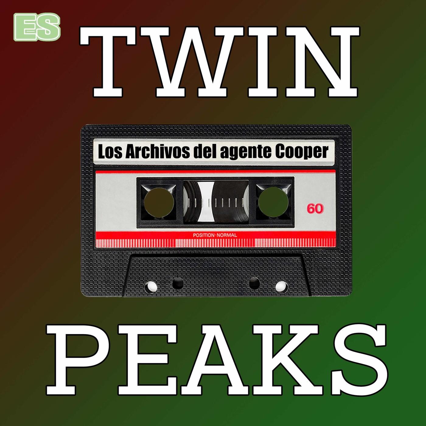 Logo de Twin Peaks: Los Archivos del Agente Cooper