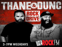 Rock Drive with Thane & Dunc - 20 Sep 2017 Podcast